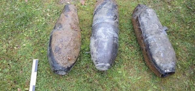 Tõhela järvest leiti kolm lennukipommi