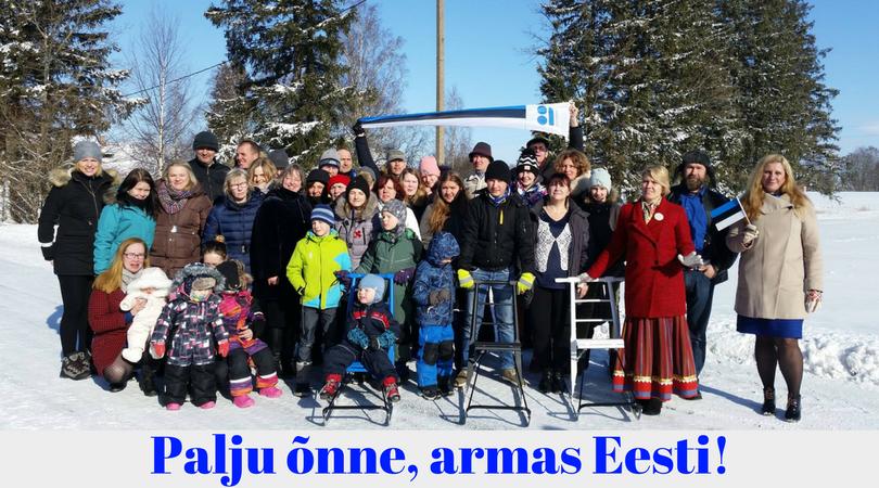 Palju õnne armas Eesti!